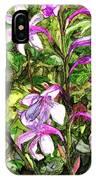 Art In The Garden II IPhone Case