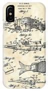 Artificial Bait Patent 1923 - Vintage IPhone Case