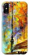 Aura Of Autumn 2 IPhone Case