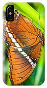 Autumn Leaf Butterfly IPhone Case