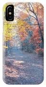 Autumn On Forbidden Drive IPhone Case