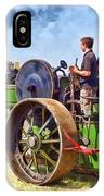 Aveling Roller IPhone Case