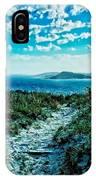 Beach Track IPhone Case