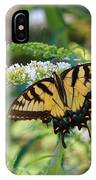 Beautiful Butterfly Pollination IPhone Case