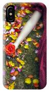 Bedded In Petals IPhone Case