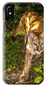 Belize Mountain Lion IPhone Case