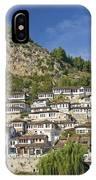 Berat Old Town In Albania IPhone Case
