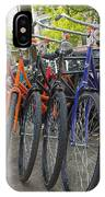 Bicycles In Amsterdam IPhone Case