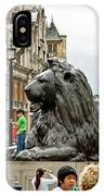 Big Lion Little Ben IPhone Case