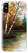 Birch Pond IPhone Case
