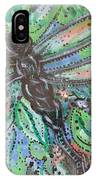 Black Dragonfly IPhone Case