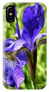 Blood Iris IPhone Case