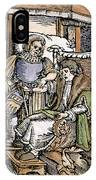 Bloodletting, 1540 IPhone Case