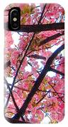 Blossoms And Bark IPhone Case