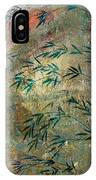 Blue Bamboo IPhone Case