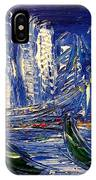 Blue City IPhone Case