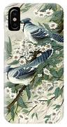 Blue Jays And Blossoms IPhone Case