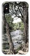 Blue Spring Branch IPhone Case