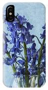 Bluebells 1 IPhone Case