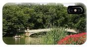 Bow Bridge Over The Lake IPhone Case