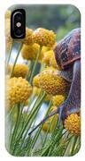 Brown Garden Snail IPhone X Case