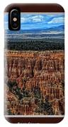Bryce Canyon II IPhone Case