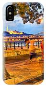 Budapest By Night Paint IPhone Case