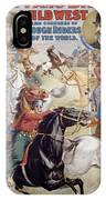 Buffalo Bill Poster, C1899 IPhone Case