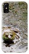 Bullfrog In The Mud IPhone Case
