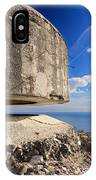 Bunker Over The Sea IPhone Case