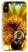 1 Busy Bumble L IPhone Case