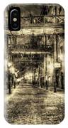 Butlers Wharf London Vintage IPhone Case