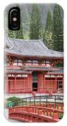 Byodo-in Temple IPhone Case