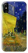 Cafe Terrace Arles IPhone Case