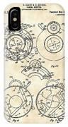 Camera Shutter Patent 1910 - Vintage IPhone Case