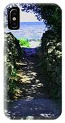 Cana Island Walkway Wi IPhone Case