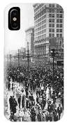 Canal Street In New Orleans IPhone Case