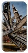 Canoe Sculpture IPhone Case