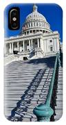 Capitol Hill Building In Washington Dc IPhone Case