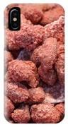 Caramelized Peanuts IPhone Case