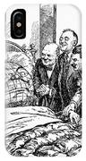 Cartoon: Big Three, 1945 IPhone Case