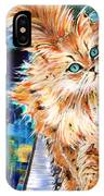 Cat Orange IPhone Case