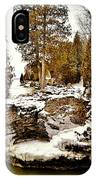 Cave Point County Park Door County  IPhone Case