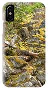 Cheakamus Rainforest Debris IPhone Case