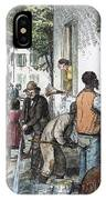 Cholera Epidemic, 1873 IPhone Case