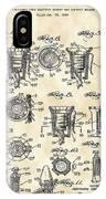 Christmas Bulb Socket Patent 1936 - Vintage IPhone Case