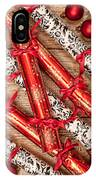 Christmas Crackers IPhone Case