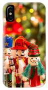 Christmas Figures IPhone Case