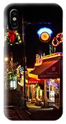 Christmas In Ladysmith IPhone Case