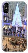 Christmas Shopping In Toronto IPhone Case